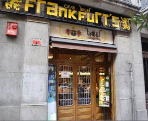 Casa Valles Frankfurt's - Gran de Gràcia nº 84 (Barcelona)