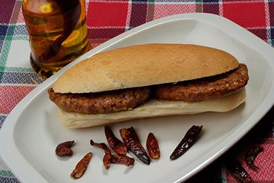 Hamburguesa burguer meat picant